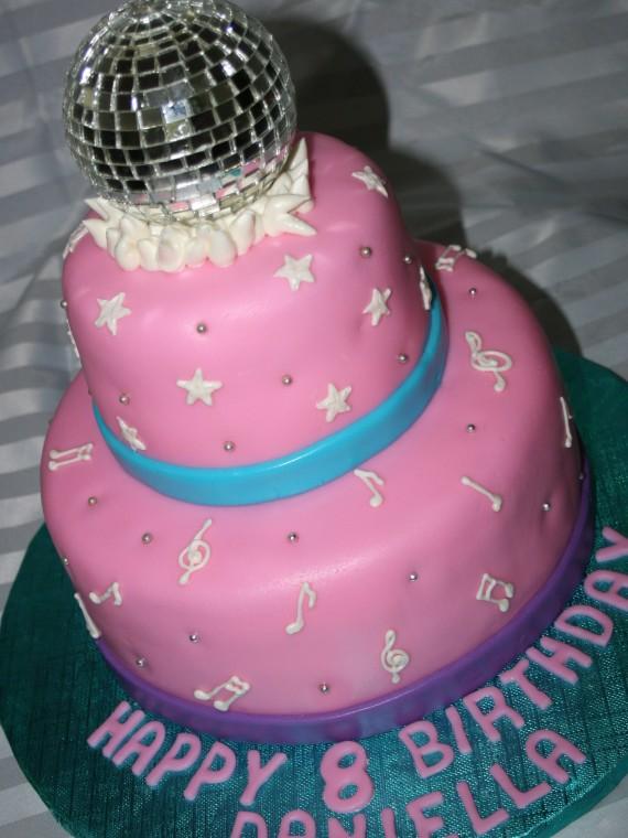 Admirable Girls Birthday Cake Archives Danielle Kattan Birthday Cards Printable Trancafe Filternl