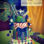 carnival cake fondant